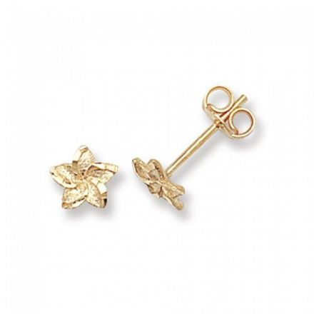 Just Gold Earrings -9Ct Gold Earring Studs, ES324